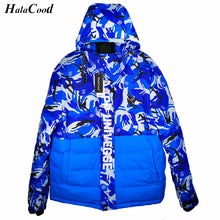 Load image into Gallery viewer, Duck Down Jacket Men- Thicken Camouflage Varsity Jacket - Windbreak Parka