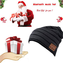 Load image into Gallery viewer, Wireless Bluetooth Music Hat Headphone Headset- W/Microphone- Sports Cap Stereo Speaker