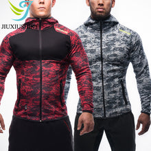 Load image into Gallery viewer, Mens Hooded Sport/Training/Fitness Compression suit