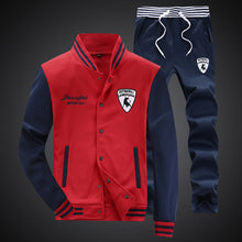 Load image into Gallery viewer, Mens Long Sleeve Winter Fitness Running Suit*