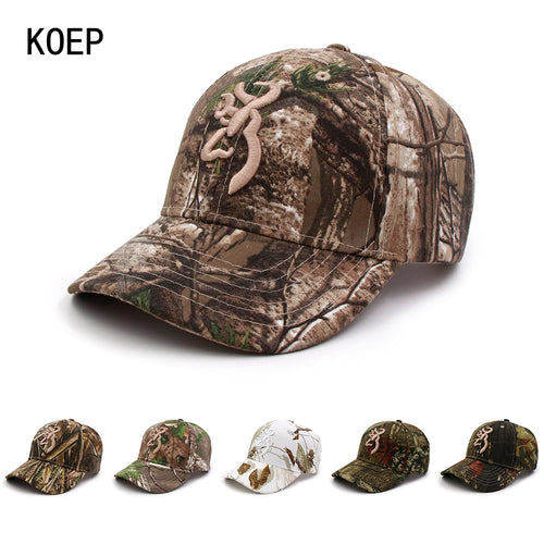 BROWNING CAMOUFLAGE HUNTING/FISHING ADJUSTABLE CAP