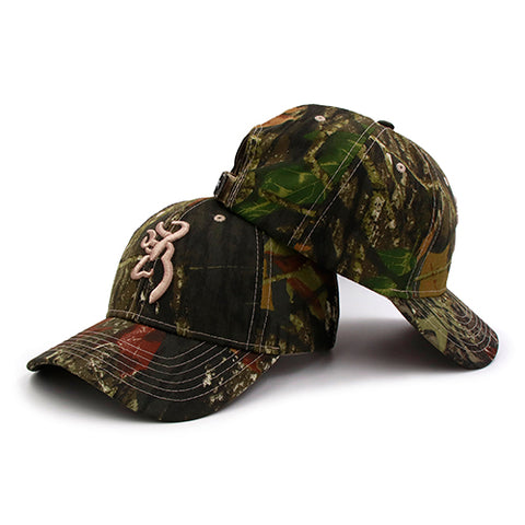 4a97c0b1311 BROWNING CAMOUFLAGE HUNTING FISHING ADJUSTABLE CAP  HUB TITAN