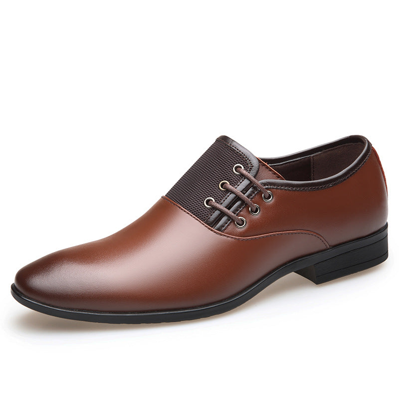 MENS LUXURY BRITISH STYLE SLIP-ON OXFORDS