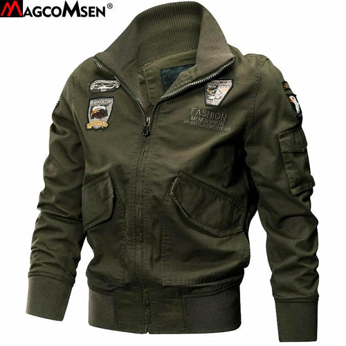 MENS MILITARY TACTICAL BOMBER JACKET*