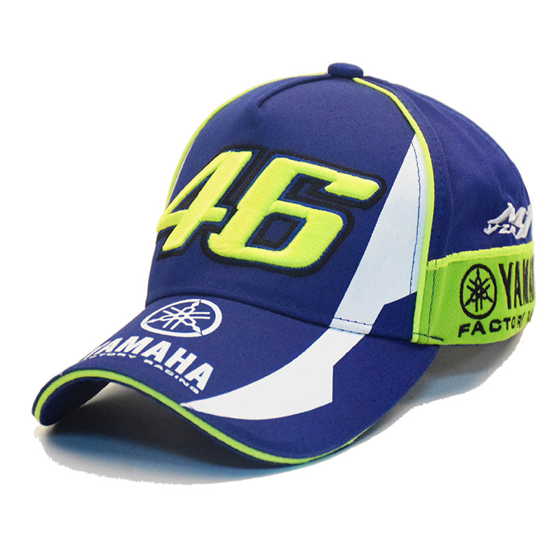 MNKNCL NEW MOTO GP 46 3D EMBROIDERED RACING CAPS