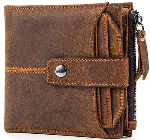 Leather Clutch Vintage Leather Wallet