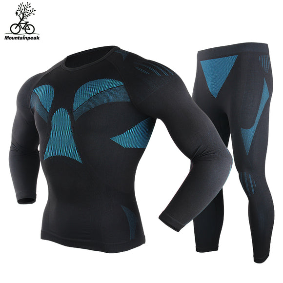 MENS LONG SLEEVE FITNESS/TRAINING COMPRESSION SUIT