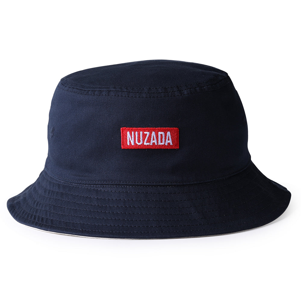NUZADA Classic Summer Double Layer Bucket Hat