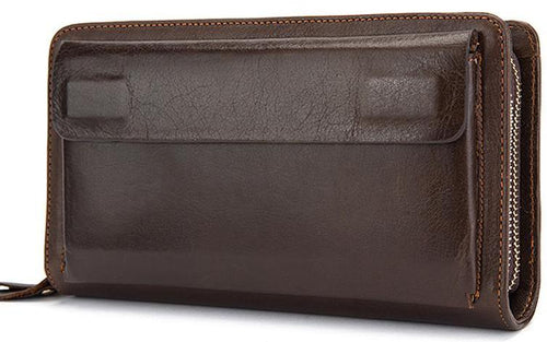 Money Clip Men's Leather Wallet