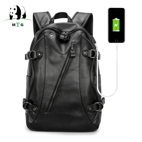 Waterproof 15.6 Inch USB Charging Softback Backpack