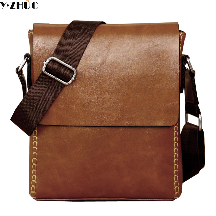 YZHUO Multifunction Small Leather Crossbody Messenger Bag*