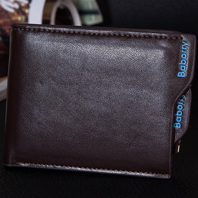 Men's wallets-  Soft Card Case New classic solid pattern designs