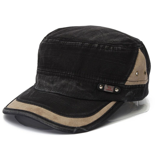 Military Style Adjustable Baseball Cap