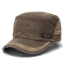 Load image into Gallery viewer, Military Style Adjustable Baseball Cap