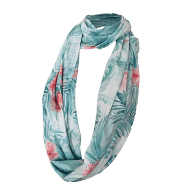 SunStyle Wrap UPF50+, Watercolour Tropical Palms