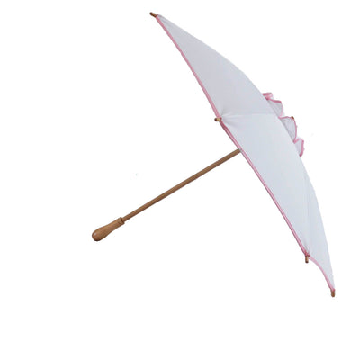 Sunbella Sun Parasol Short handle Cosmopolitan Sun Parasol - Pink on White