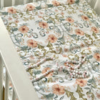 Tangled flowers - box rug, boxkleed, baby play mat