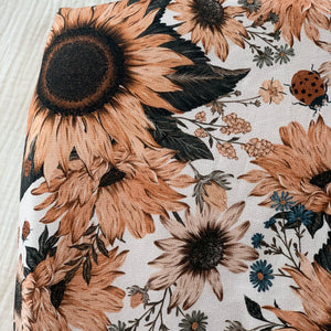 Sunflowers - fitted sheet, hoeslaken