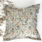 Grey flowers - pillow