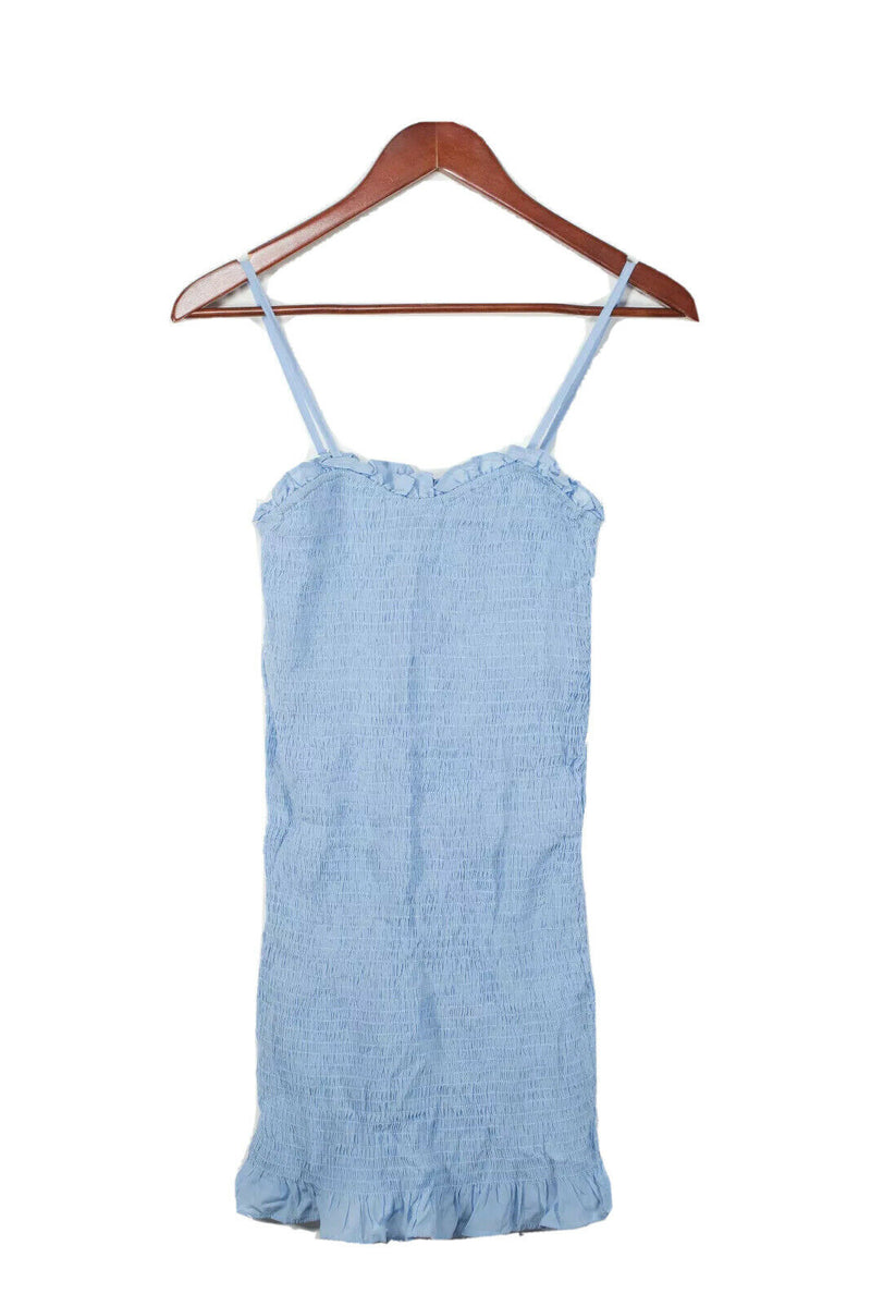 Max Jeans Size XS Blue Smocked Sundress
