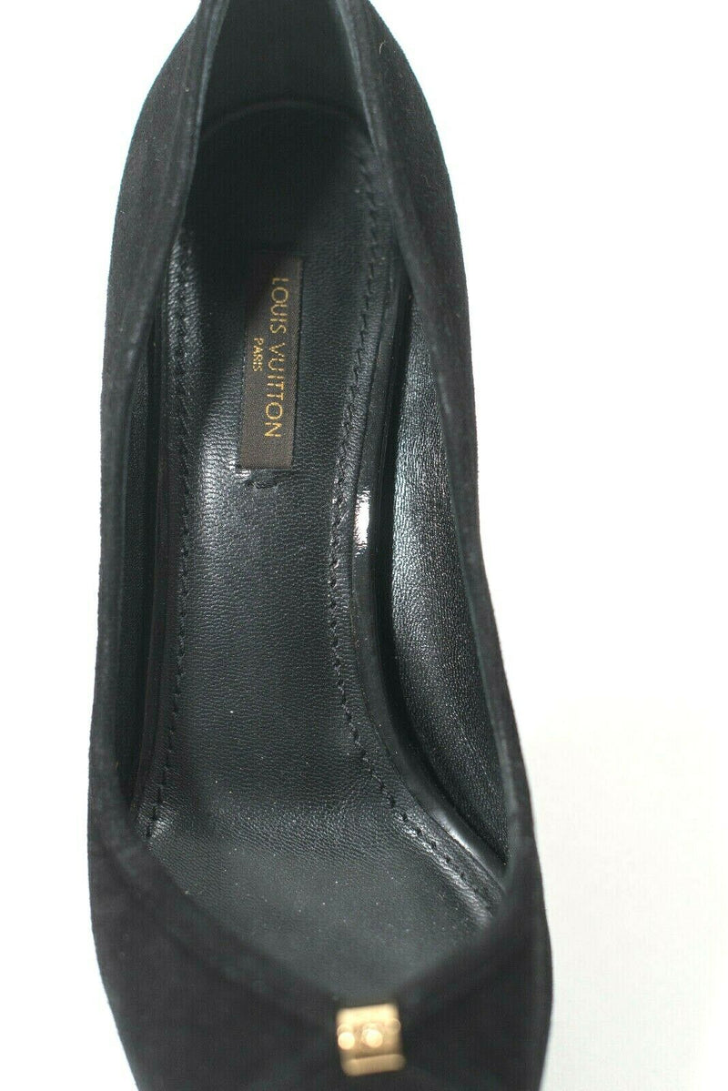 Louis Vuitton Size 36.5 Black Kimono Pumps