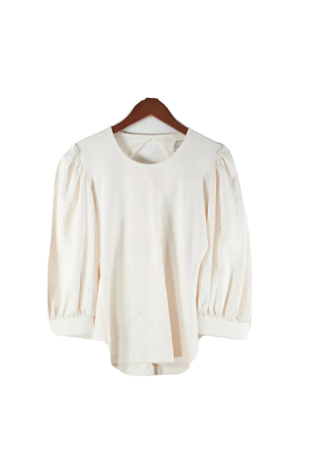 Amanda Uprichard Womens Small Ivory Tee Shirt Cotton Top NWT $200