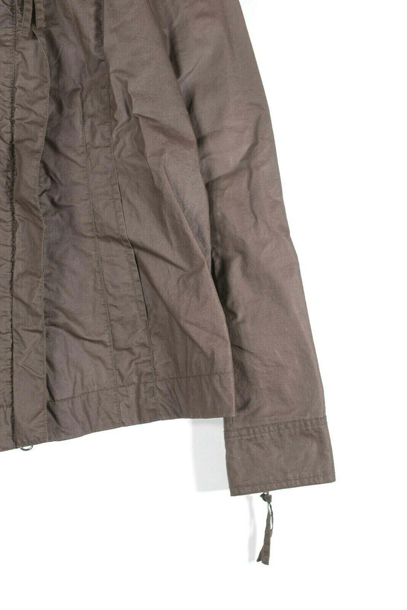 Eileen Fisher Size Small Brown Waxed Jacket