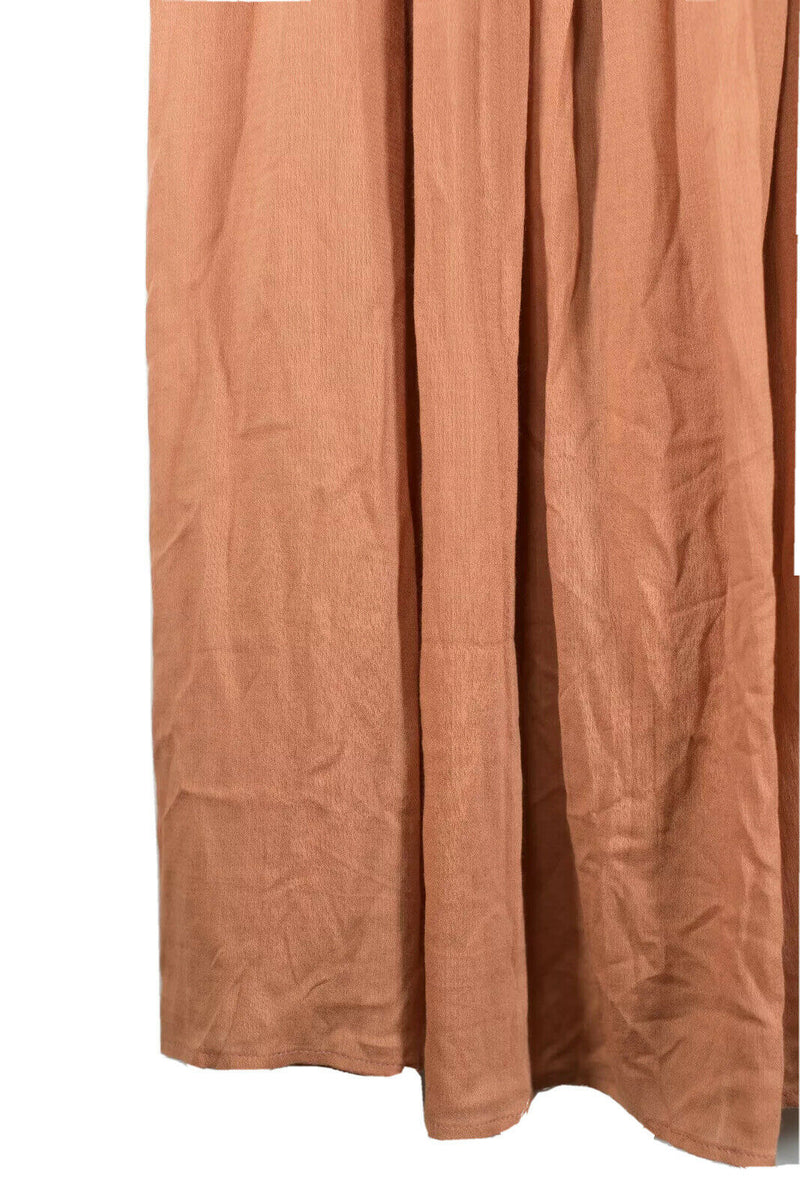 Indah Womens Size XS Orange Maxi Skirt