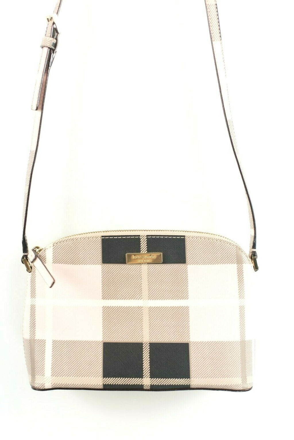 Kate Spade New York Womens Small Pink Crossbody Bag Newbury Lane Printed Hanna