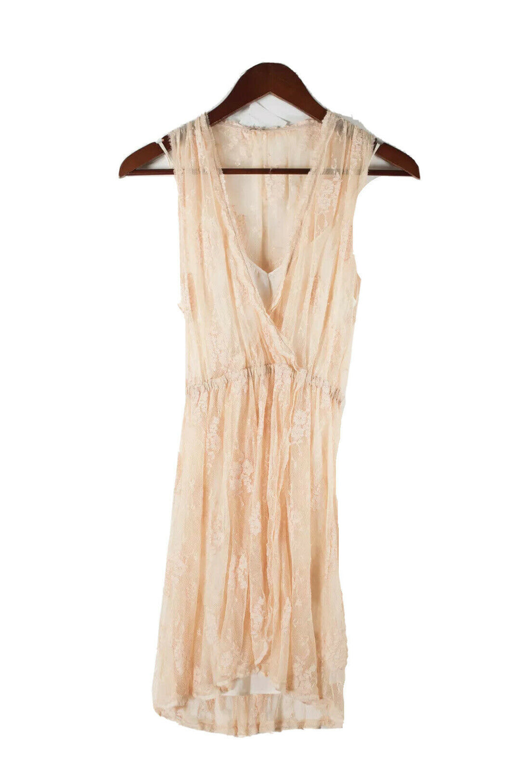 Wilfred Aritzia Womens XXS Beige Dress Slip Dress