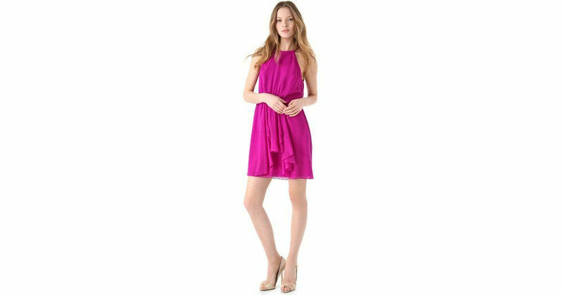 Rebecca Taylor Size 0 Pink Feeling Good Dress NWT