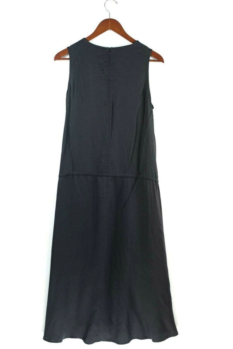 Anthropologie Elk Womens Small Black Dress Angle Pocket Maxi Tank Sleeveless NWT
