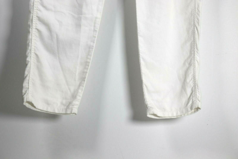 The GREAT. Womens Size 27 White Slim Jogger Pants