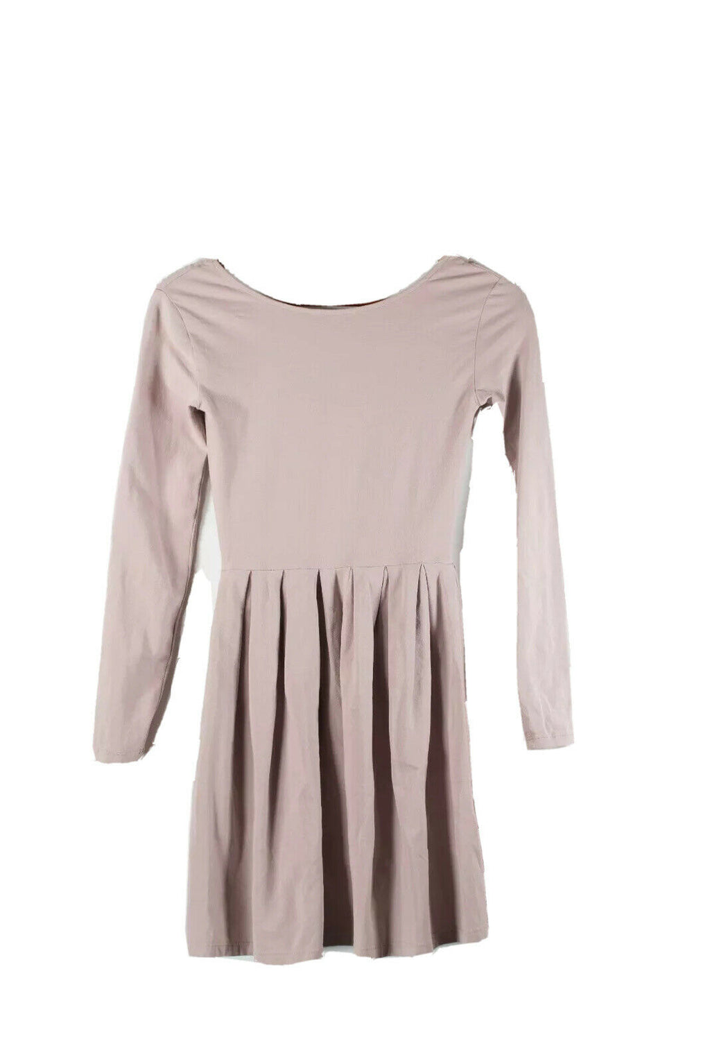 Aritzia Talula Size XXS Blush Pink Pleated Dress
