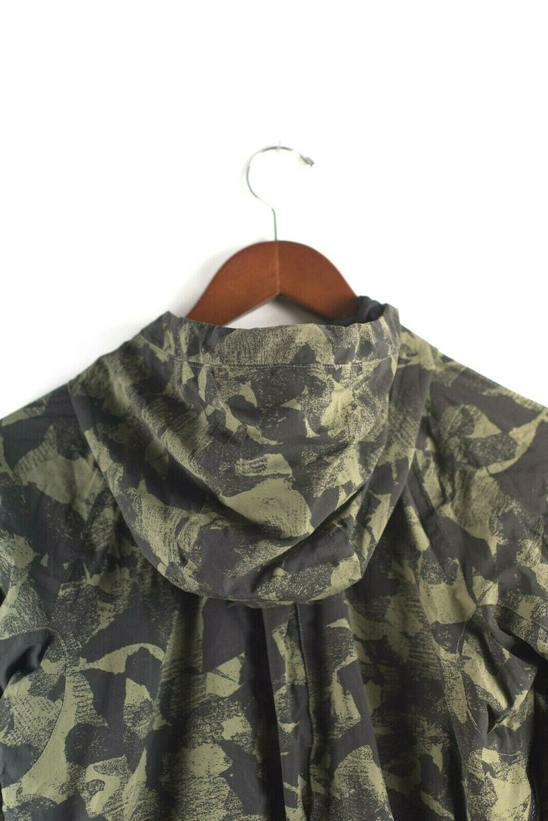 Lululemon Womens S Green Black Jacket Rise & Shine II Mystic Jungle Fatigue Camo