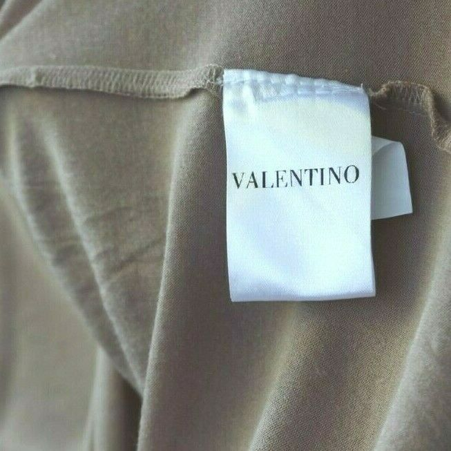Valentino T Shirt Couture Womens Small Medium Pink Bow Shirt