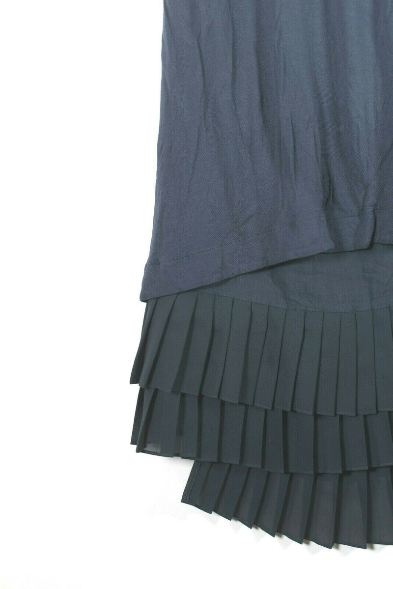 See by Chloe Size 6 Blue Pleated Dress
