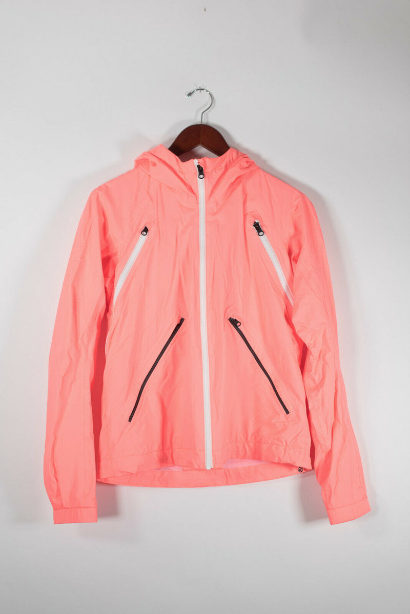 Lululemon Run Size 6 Orange Rise And Shine Jacket
