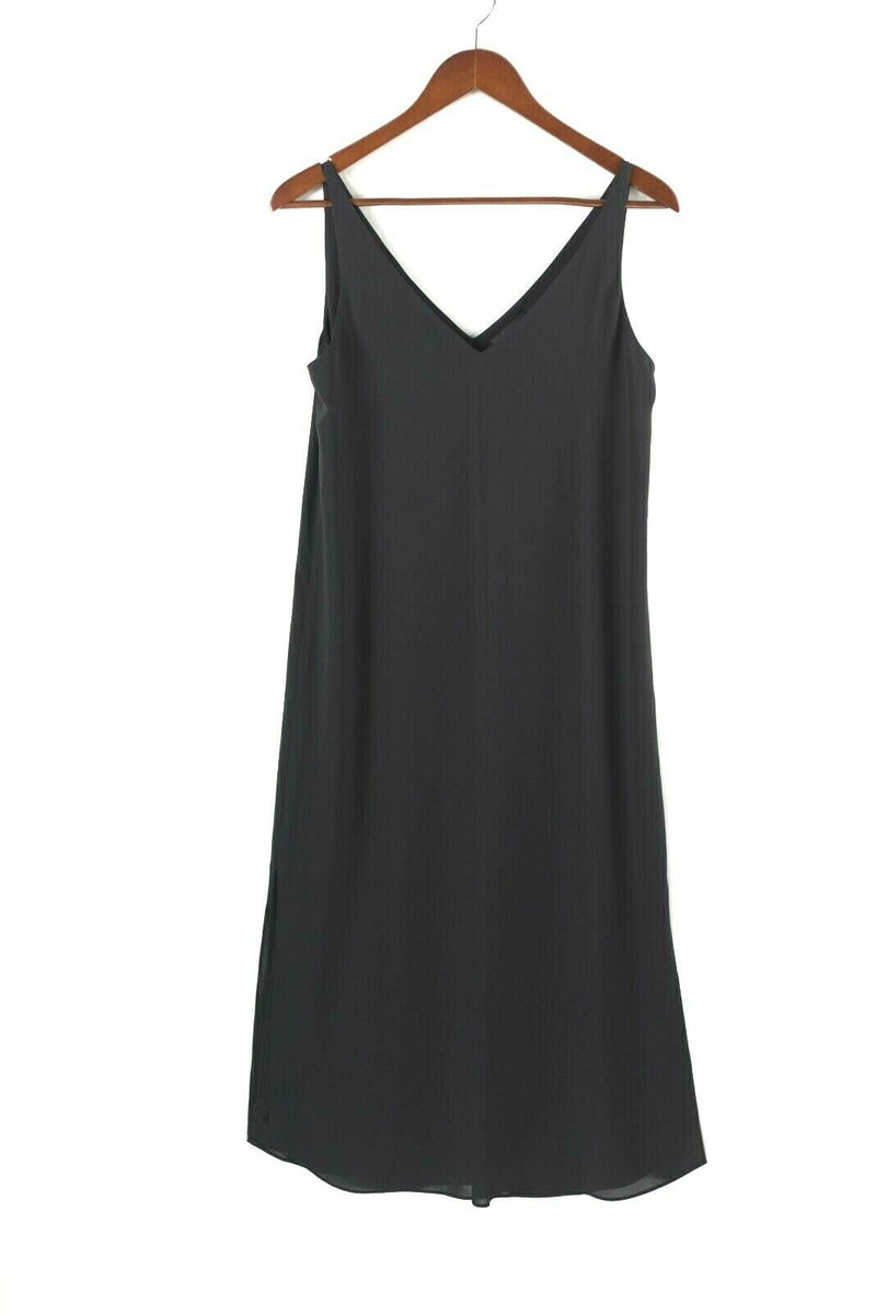 Aritzia Babaton Womens Size XS Black Dress Little Black Dress Knee Length Midi