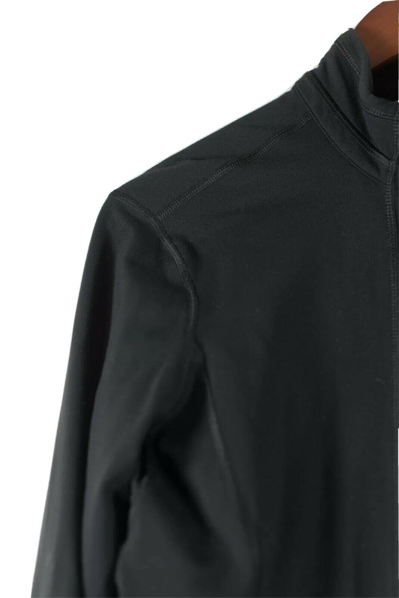 Lululemon Womens Size 10 Black Jacket Spandex Athleisure Yoga
