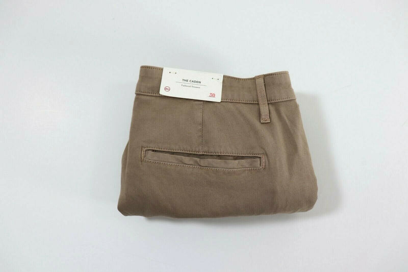 Adriano Goldschmied AG Womens 30 Tan Pants The Caden Tailored Trouser Khaki NWT
