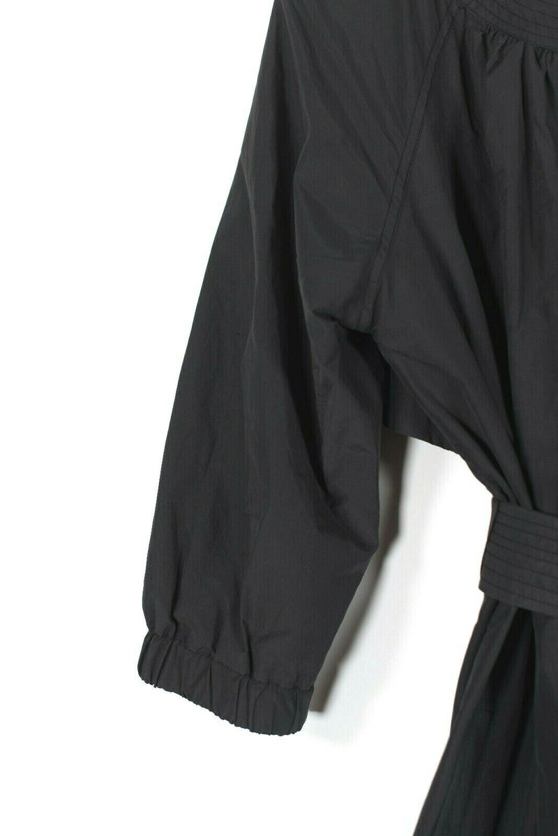 Vince Size Medium Black Trench Coat