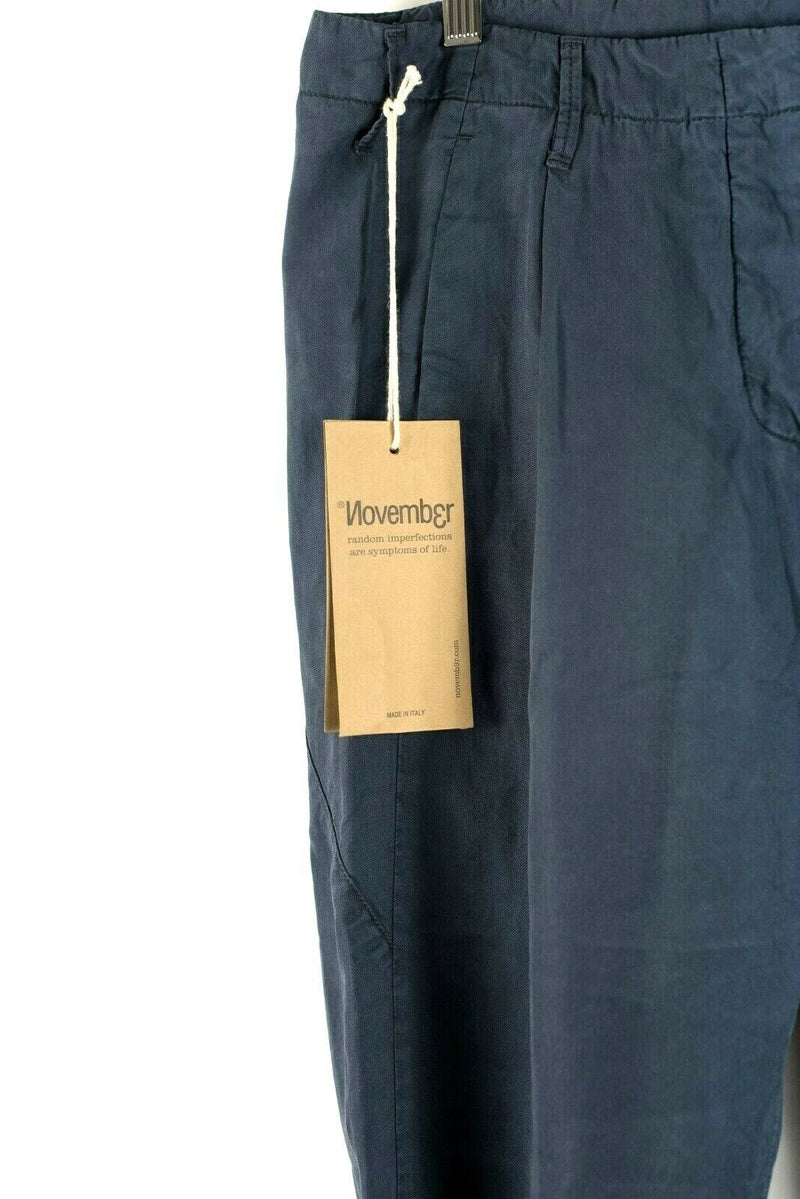 NOVEMB3R Women's Size 29 Ombre Blue Spika Pants Made in Italy MSRP $320 BNWT