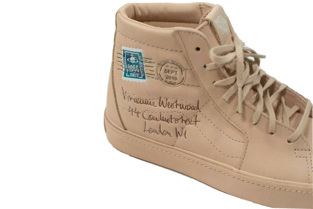 Vans x Vivienne Westwood Size 6 Anglomania Postcard Sneakers NWT