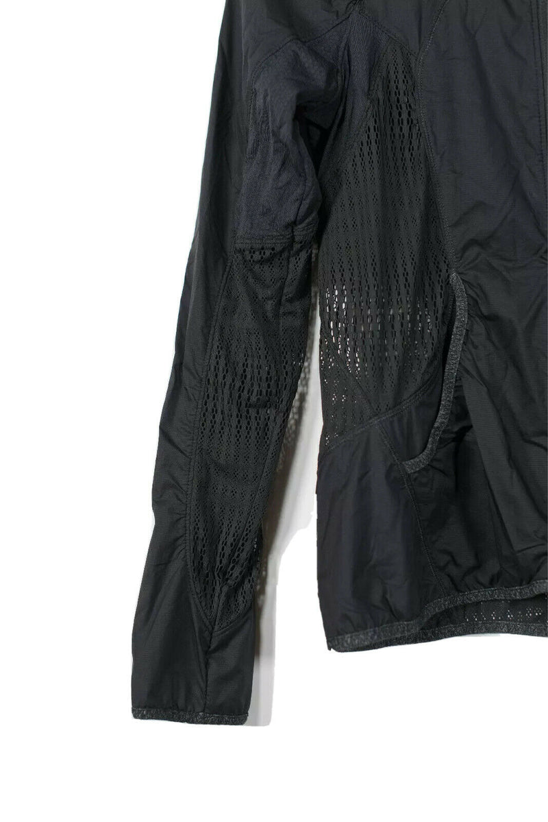 Lululemon Womens Size 6 Black Jacket Perforated Windbreaker