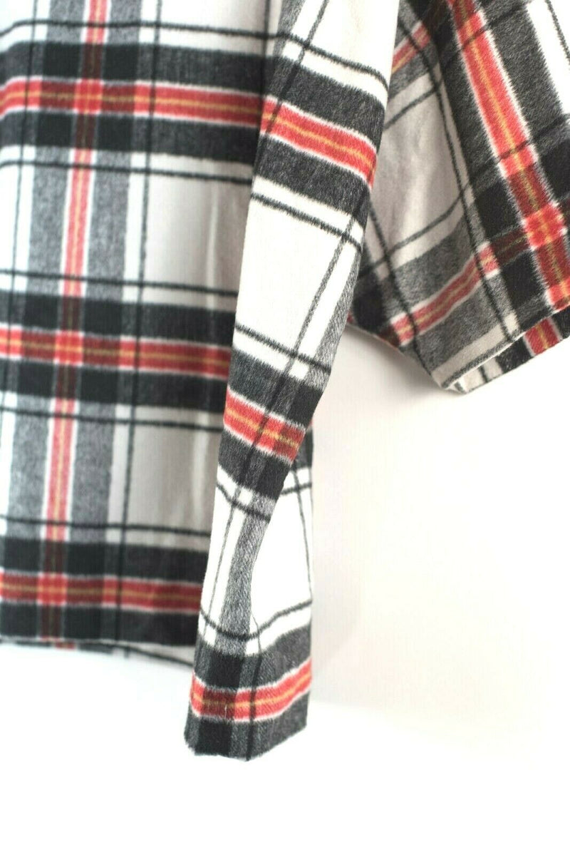 Lord & Taylor Flannel Shirt Large