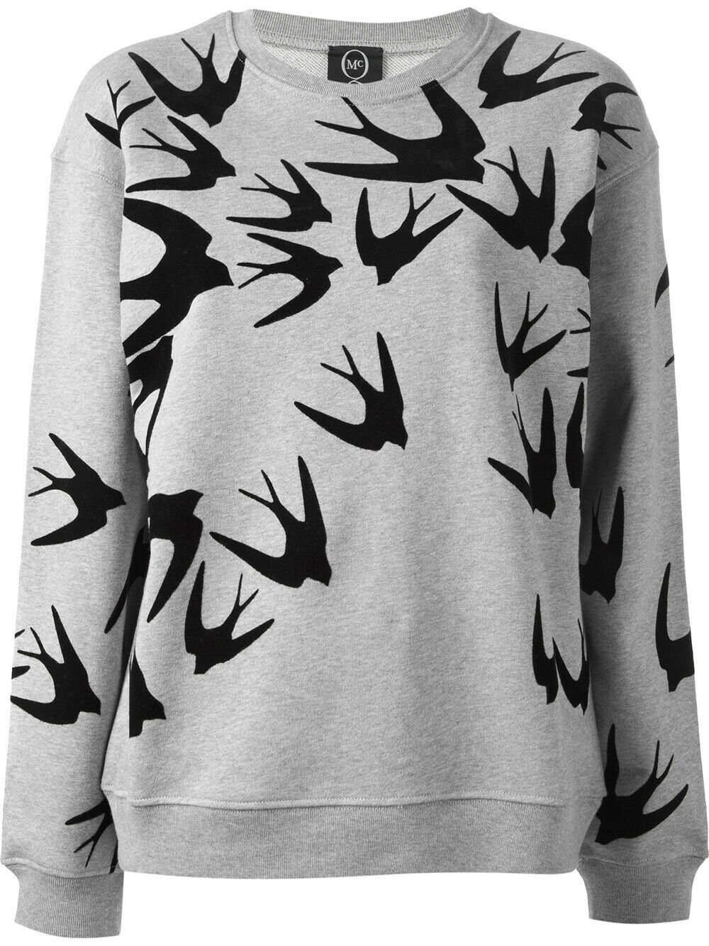 MCQ Alexander McQueen Medium Grey Swallow Sweater