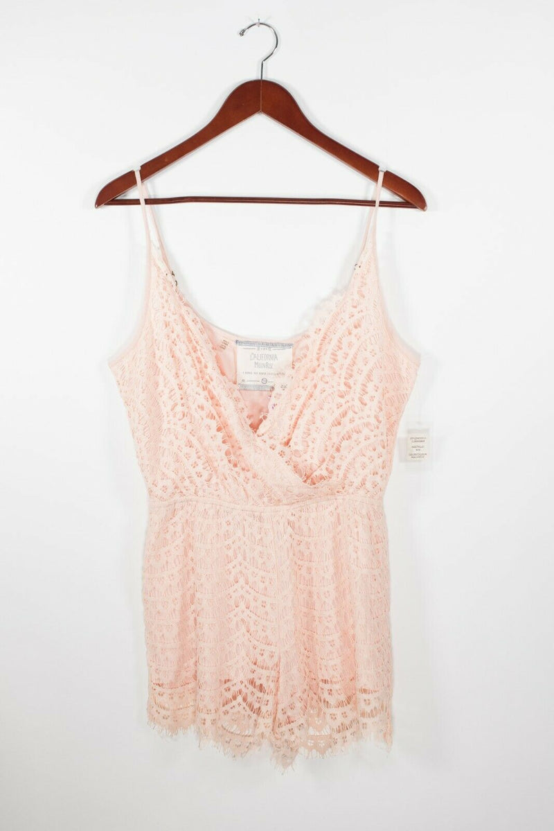 California Moonrise Yoke Romper Medium