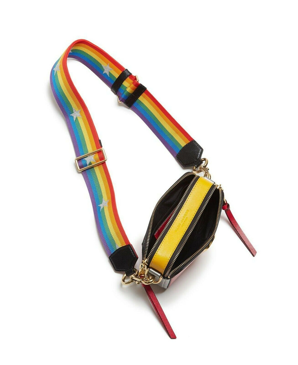 Marc Jacobs Snapshot Rainbow Strap Camera Bag
