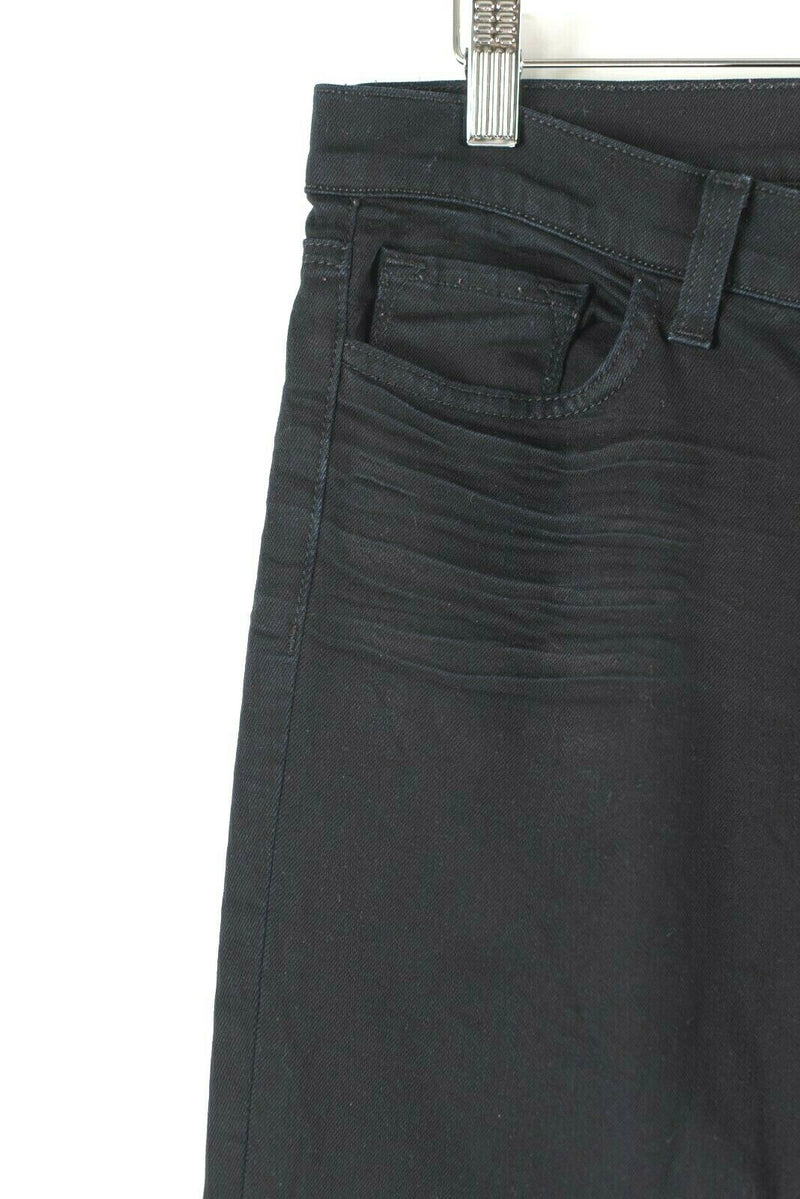 J Brand Womens 29 Black Jeans Low Rise Skinny Leg Cotton Stretch Denim Pants